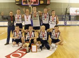 """Turnyro nugalėtojai """"Policijos-1"""" komanda"""